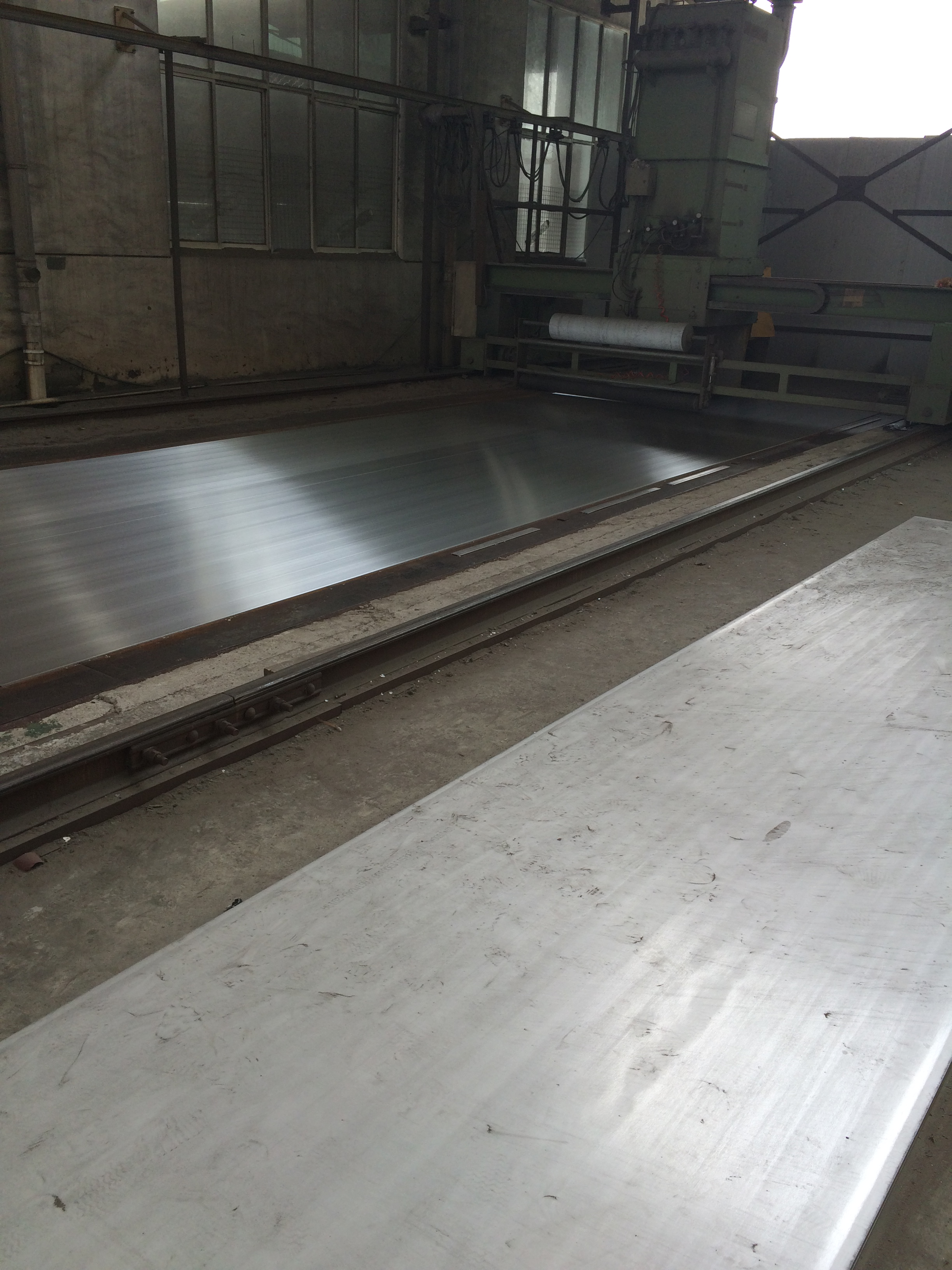 Polished hot rolled plate, 240G polish plate