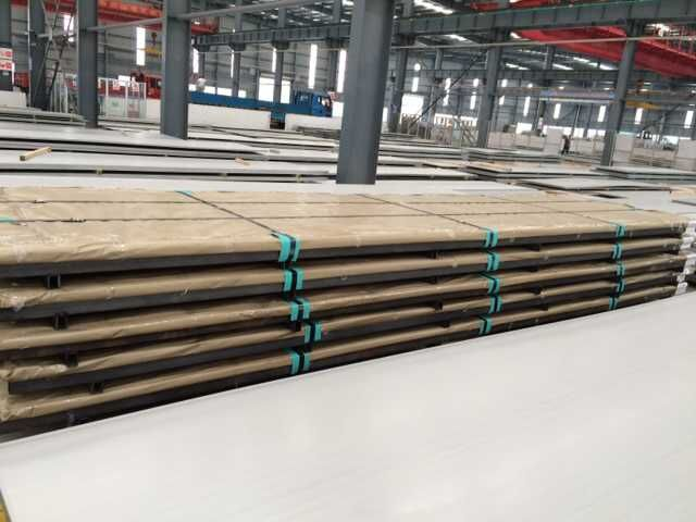 stainless steel hot rolled plate, HR plate, stock
